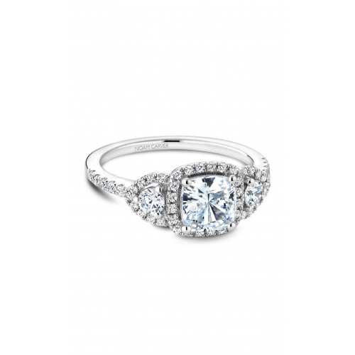 Noam Carver 3 Stone Engagement ring B213-01WM product image
