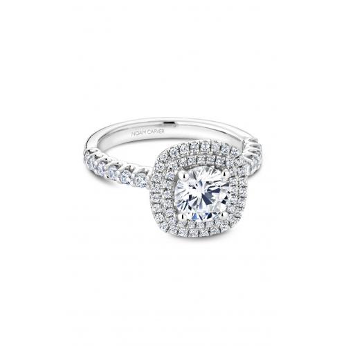 Noam Carver Halo Engagement ring B222-01WM product image