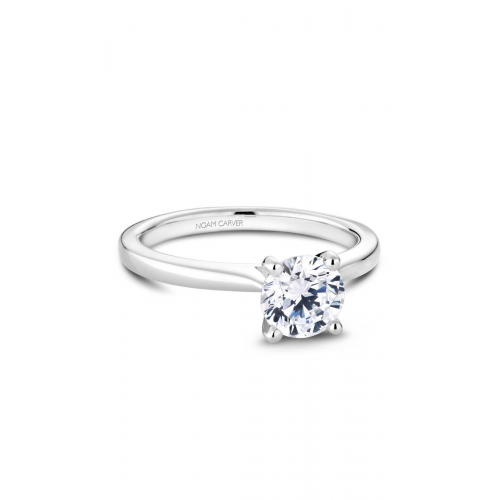 Noam Carver Solitaire Engagement ring R045-01WM product image