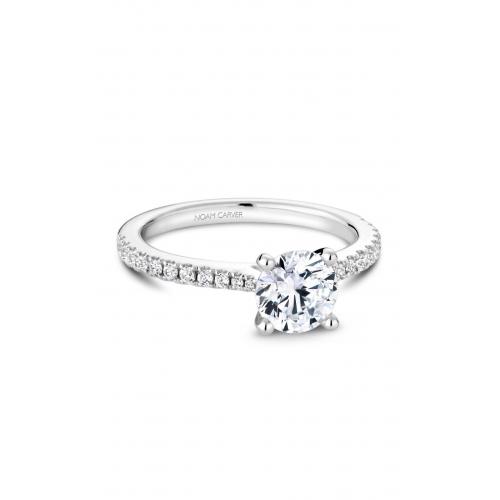 Noam Carver Solitaire Engagement ring R046-01WM product image