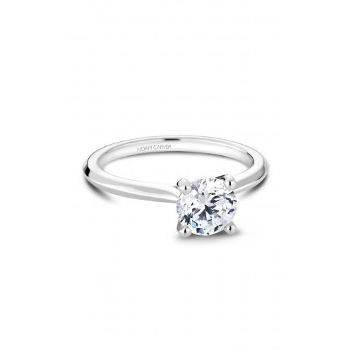 Noam Carver Solitaire Engagement ring R047-01WM product image