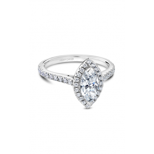 Noam Carver Halo Engagement ring R050-07WM product image