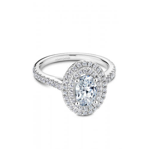 Noam Carver Halo Engagement ring R051-02WM product image