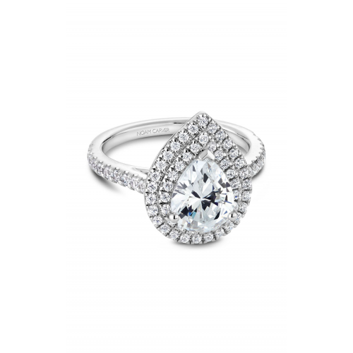 Noam Carver Halo Engagement ring R051-03WM product image