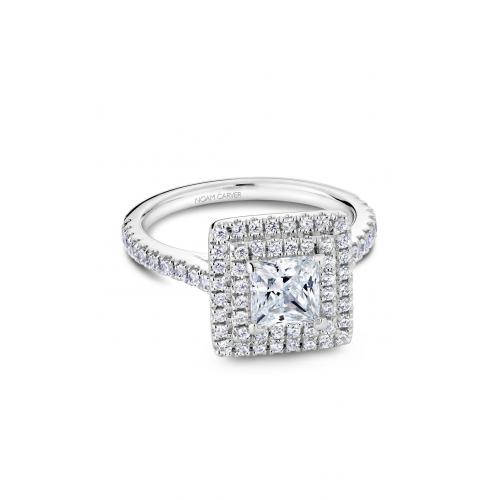 Noam Carver Halo Engagement ring R051-06WM product image