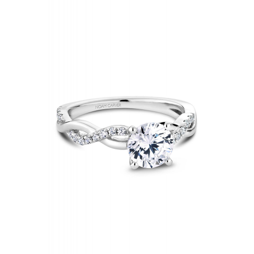 Noam Carver Vintage Engagement ring B185-02WM product image