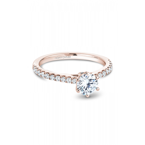 Noam Carver Solitaire Engagement ring B142-17RM product image