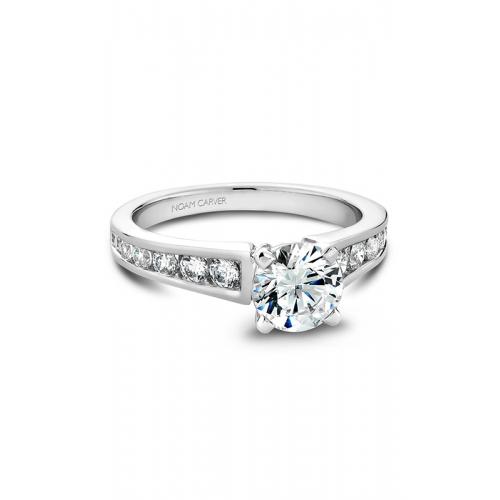 Noam Carver Solitaire Engagement ring B006-01WM product image