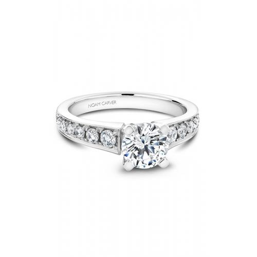 Noam Carver Solitaire Engagement ring B006-02WM product image