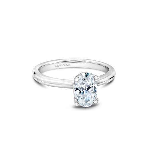 Noam Carver Solitaire Engagement ring B027-04WM product image