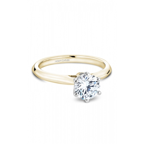 Noam Carver Solitaire Engagement ring B143-17YM product image