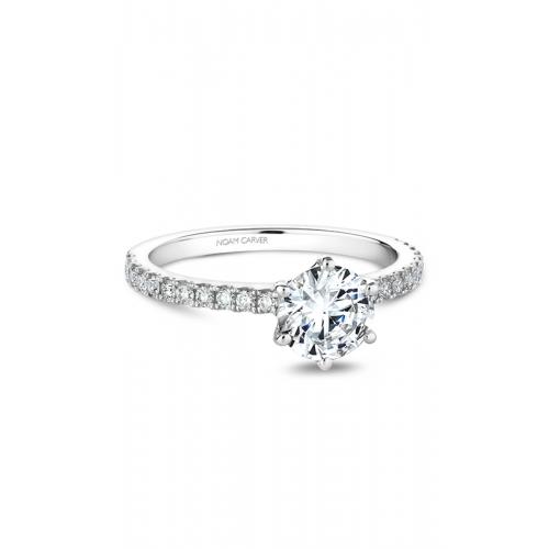 Noam Carver Solitaire Engagement ring B102-01WM product image