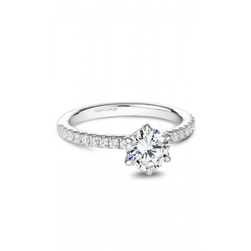 Noam Carver Solitaire Engagement ring B245-02WM product image