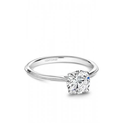 Noam Carver Solitaire Engagement ring B247-01WM product image
