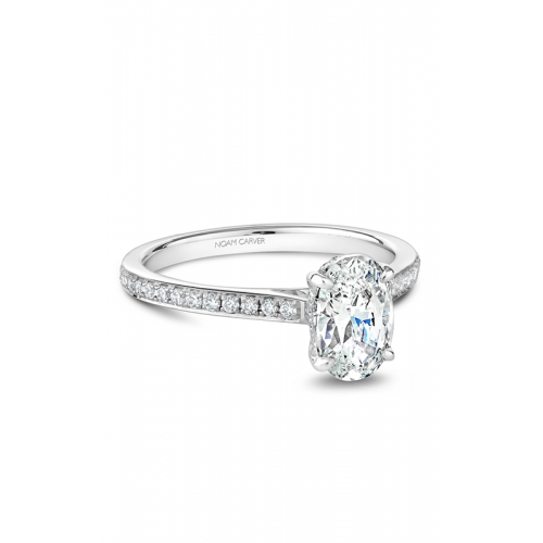 Noam Carver Solitaire Engagement ring B253-02WM product image