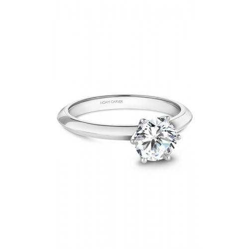 Noam Carver Solitaire Engagement ring B262-01WM product image