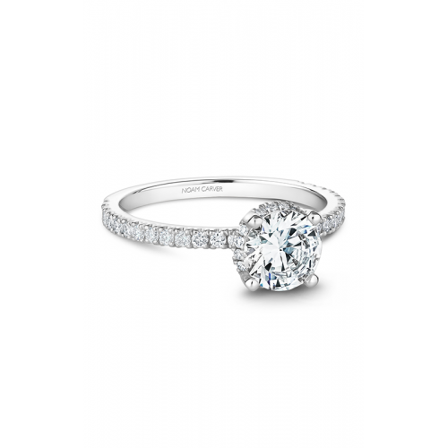 Noam Carver Solitaire Engagement ring B263-01WM product image