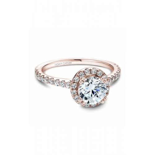 Noam Carver Halo Engagement ring B007-01RM product image