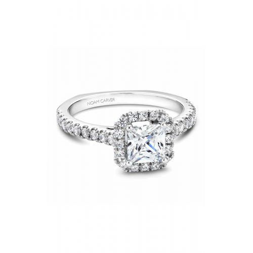 Noam Carver Halo Engagement ring B034-02WM product image