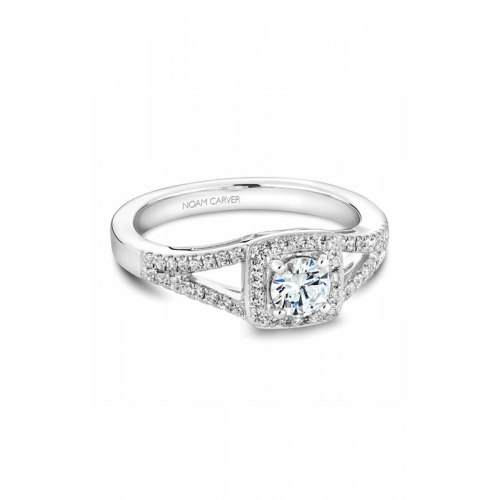 Noam Carver Halo Engagement ring B100-03WM product image