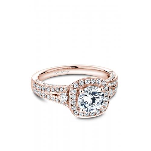 Noam Carver Halo Engagement ring B172-01RM product image