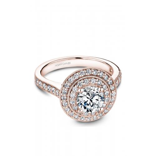 Noam Carver Halo Engagement ring B183-01RM product image
