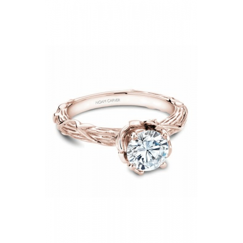 Noam Carver Floral Engagement ring B081-01RM product image