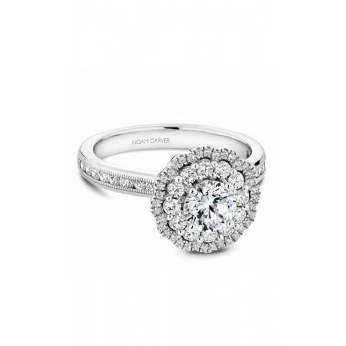 Noam Carver Floral Engagement ring B145-16WM product image
