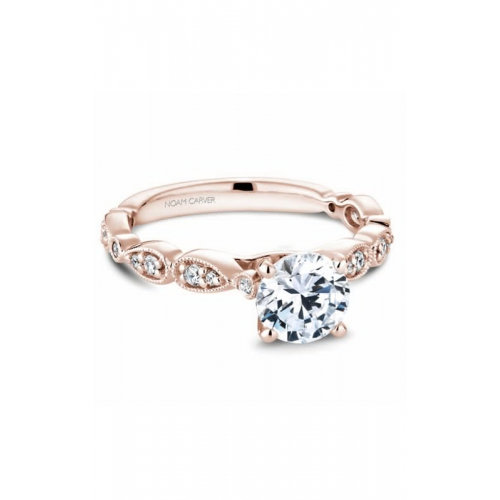 Noam Carver Floral Engagement ring B204-01RM product image