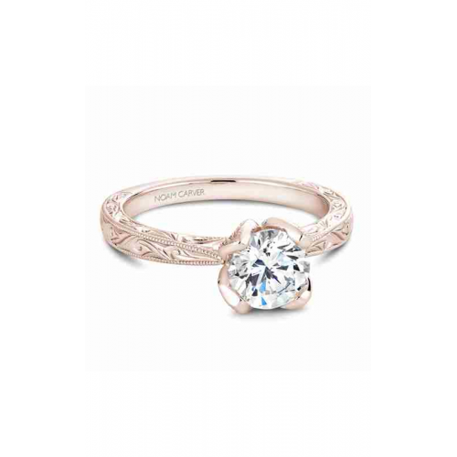 Noam Carver Vintage Engagement ring B019-02RME product image