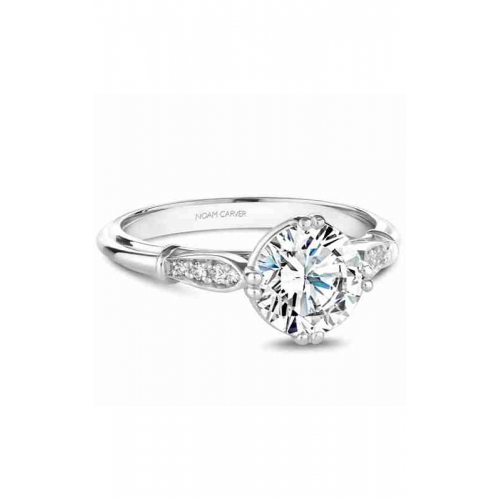 Noam Carver Vintage Engagement ring B267-01WM product image