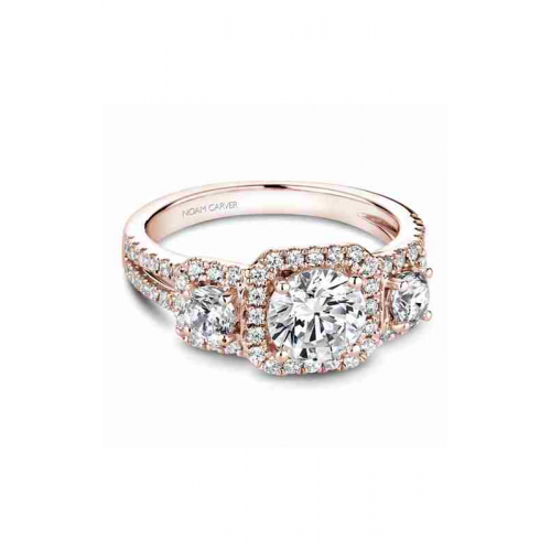 Noam Carver 3 Stone Engagement ring B210-01RM product image