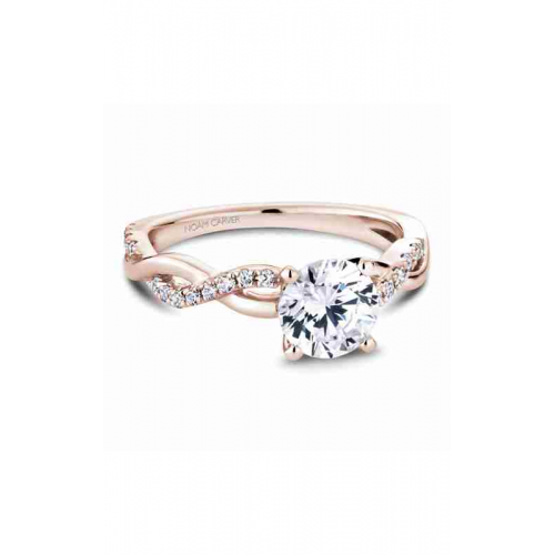 Noam Carver Twist Band Engagement ring B185-02RM product image
