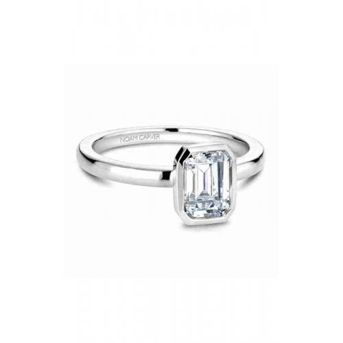 Noam Carver Bezel Engagement ring B095-03WM product image