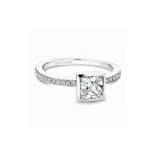 Noam Carver Bezel Engagement ring B095-04WM product image