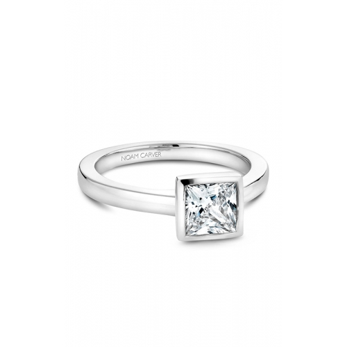 Noam Carver Bezel Engagement ring B095-06WM product image