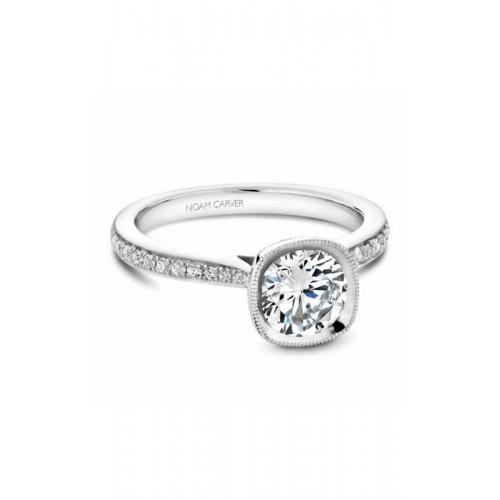 Noam Carver Bezel Engagement ring B141-13WM product image