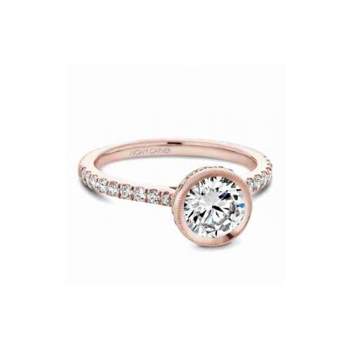 Noam Carver Bezel Engagement ring B142-12RM product image