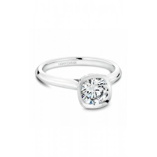 Noam Carver Bezel Engagement ring B143-13WM product image