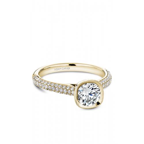Noam Carver Bezel Engagement ring B146-13YM product image