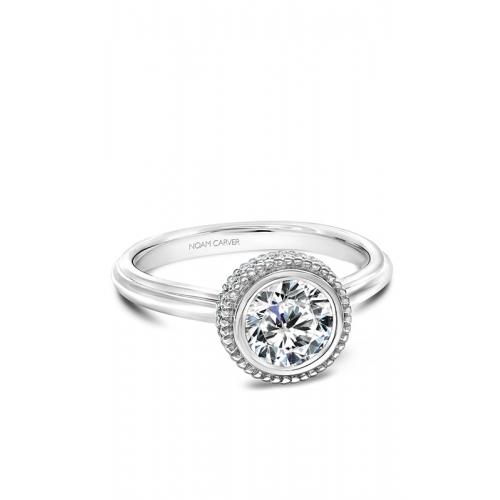 Noam Carver Bezel Engagement ring R016-01WM product image