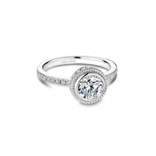 Noam Carver Bezel Engagement ring R017-01WM product image