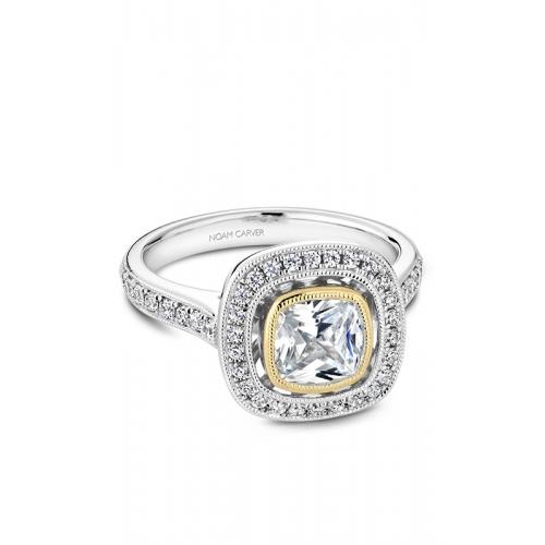 Noam Carver Bezel Engagement ring R040-03WYM product image