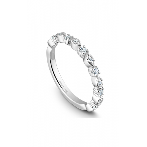 Noam Carver Stackables Wedding band STB10-1WM-D product image
