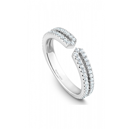 Noam Carver Stackables Wedding band STB37-1WM-D product image