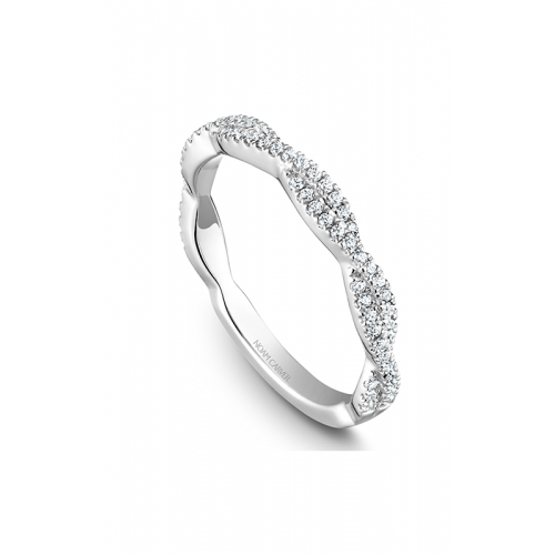 Noam Carver Stackables Wedding band STB20-1WS-D product image