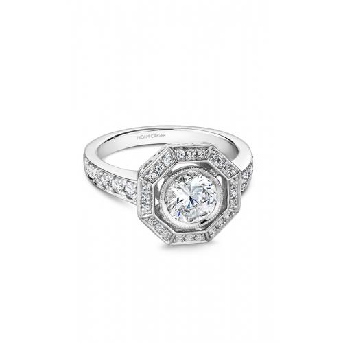 Noam Carver Vintage Engagement ring B251-01WM product image
