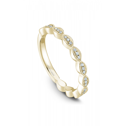 Noam Carver Stackables Wedding band STA6-1YM-D product image