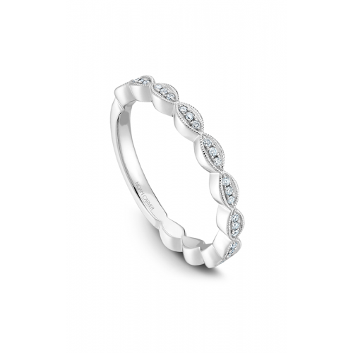 Noam Carver Stackables Wedding band STA6-1WS-D product image