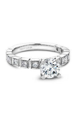 Noam Carver Modern Engagement Ring B008-01WM product image